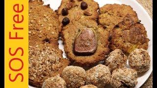 Mango Biscuits And Energy Balls | No Salt/Oil/Sugar | Wheat Free | Vegan