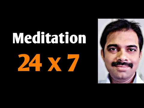 How to meditate 24 hours a day|| Ashish Shukla from DEEP KNOWLEDGE