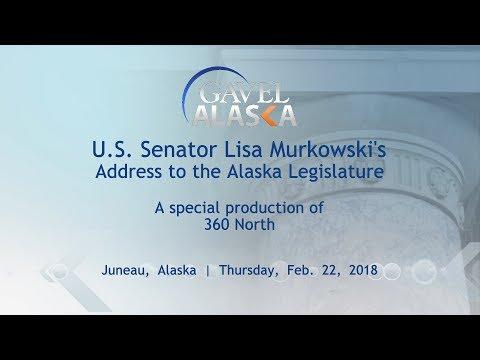 U.S. Senator Lisa Murkowski Addresses the Alaska Legislature