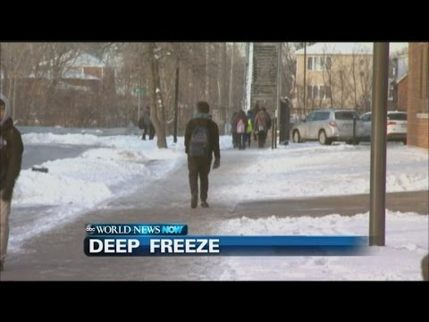 School closures begin as arctic weather threatens region