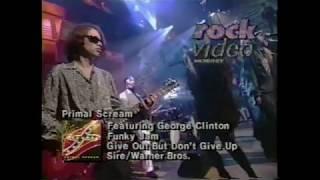 Primal Scream featuring George Clinton - Funky Jam (Live MTV 120 Minutes) (HQ)