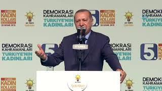 """Cumhurbaşkanı Erdoğan: """"Parlamentoyu da Kahir Ekseriyle Almalıyız  """""""