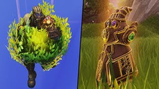 THANOS Myth Busting.. The Bush Wookie Thanos!? Fortnite Infinity Gauntlet Mode