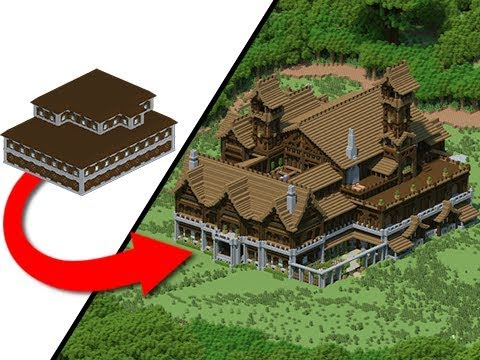 How To Transform A Woodland Mansion Youtube