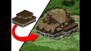How To Transform A Woodland Mansion!