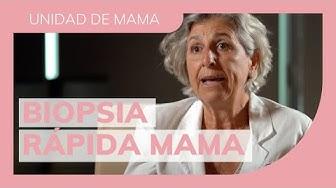Imagen del video: SALUD: En qué consiste una biopsia rápida de mama