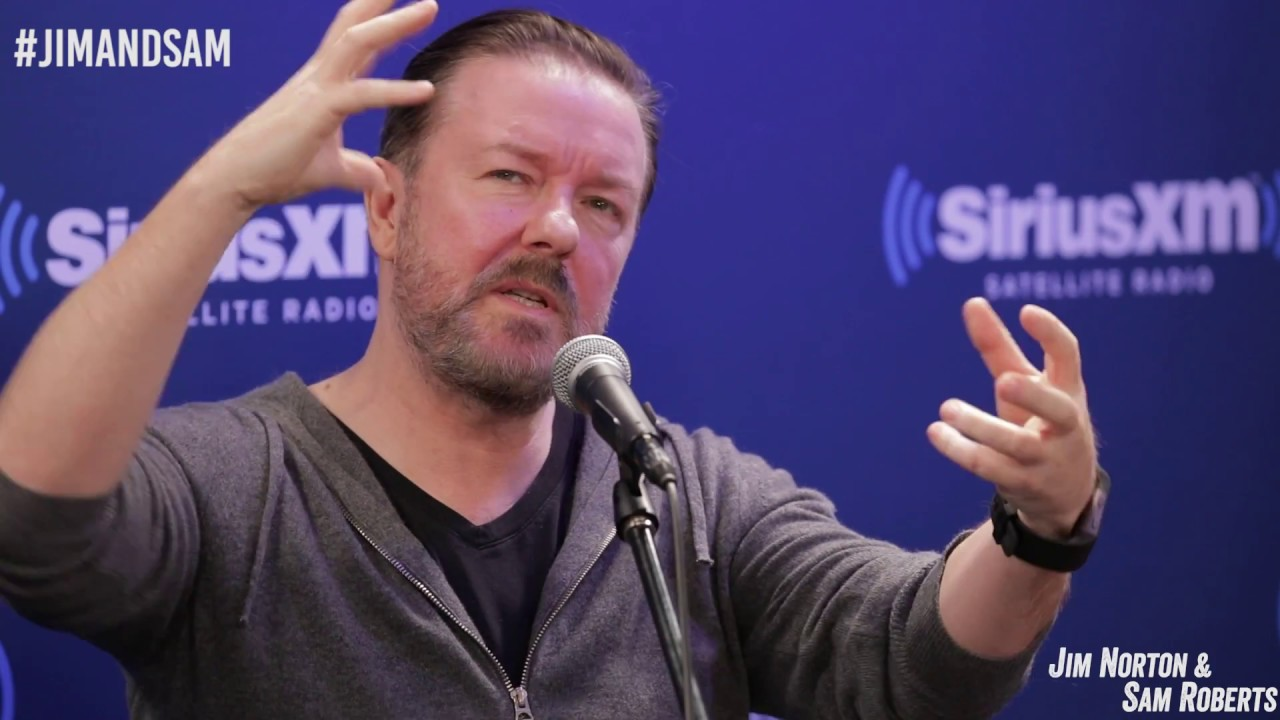 Ricky Gervais Discusses Friendship with David Bowie Jim Norton