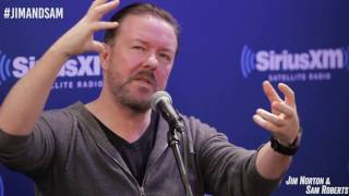 Ricky Gervais Discusses Friendship with David Bowie - Jim Norton & Sam Roberts