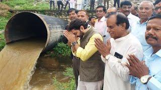 ધરોઈ ડેમમાં નર્મદાના નીર ઠાલવ્યા || new water reveune dharoi dam sabarkantha || gujarati news