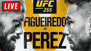 🔴 UFC 255 Live Stream - FIGUEIREDO Vs PEREZ SHEVCHENKO Vs MAIA Reaction Watch Along