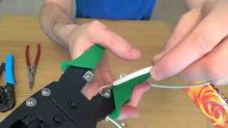 RJ45 Crimp Tool Review, the difference between a cheap £2 and expensive £25 Tool