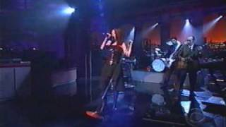 Garbage The World Is Not Enough Live On Letterman 1999