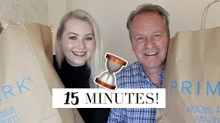 NEW Time Limit Primark Outfit Challenge - Dad vs Daughter | Meg Says