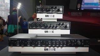 Steinberg UR22C, UR44C & UR816C - AES 2019 - Sound On Sound