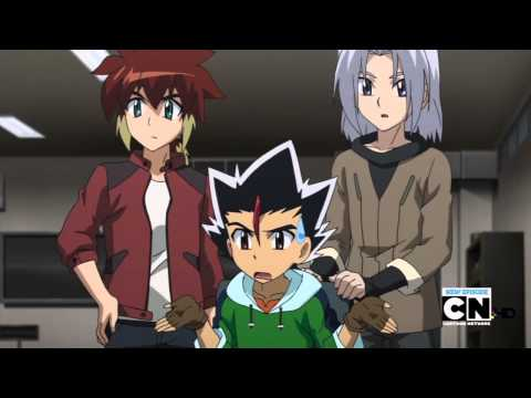Beyblade Metal Fury - Episode 14 - The New Team Dungeon! (En