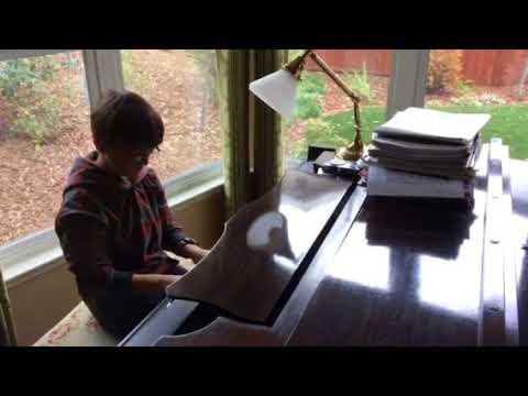 Toby Xmas Piano