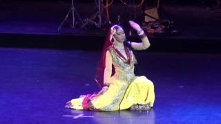Dance performance Deewani Mastani in the Kremlin palace