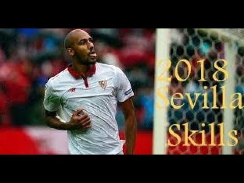 Steven N'Zonzi | Sevilla | Goals, Skills, Assists | 2017/18 - HD