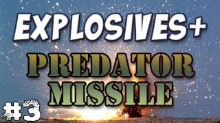 Minecraft - Predator Missiles & Stealth Bombers - Explosives+ Mod Part 3
