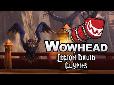 Legion Druid Glyphs