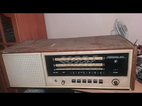 Розбір радянської радіоли Рекорд-311
