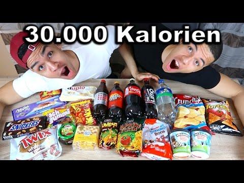 30.000 KALORIEN CHALLENGE !!!   PrankBrosTV