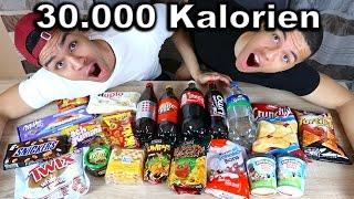 30.000 KALORIEN CHALLENGE !!! | PrankBrosTV