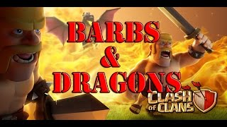 Clash of Clans | Barbarians & Dragons Event! | Train 5x Faster