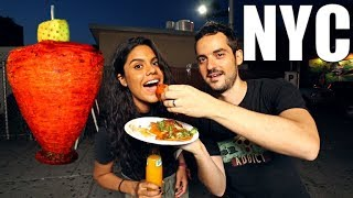 EPIC NYC Street Food Tour - BEST CHEAP Eats in Queens, New York !