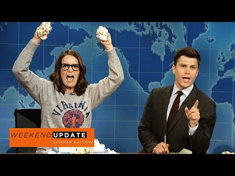 Weekend Update: Tina Fey on Protesting After Charlottesville  SNL