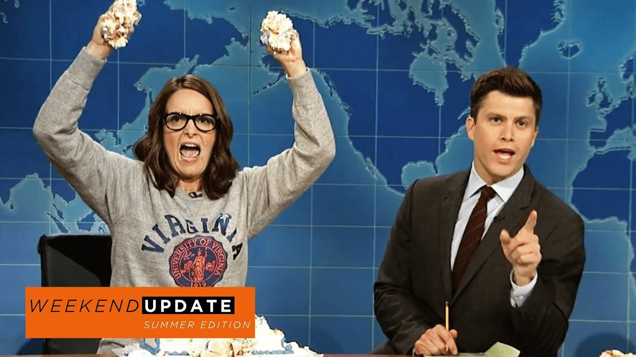 Tina Fey ate cake on SNL and it became a whole thing