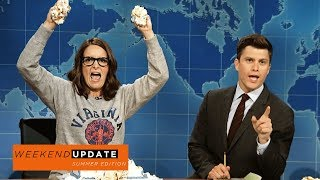 Weekend Update: Tina Fey on Protesting After Charlottesville - SNL Tina Fey reacts to the events of Ch