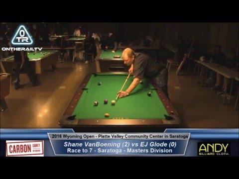 EJ Glode vs Shane VanBoening - 2016 Wyoming Open Saratoga