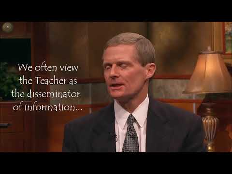 How To Act & Not Be Acted Upon When Teaching, Elder David A. Bednar
