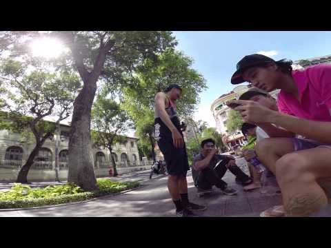 Street skating in Saigon ! with The Homies