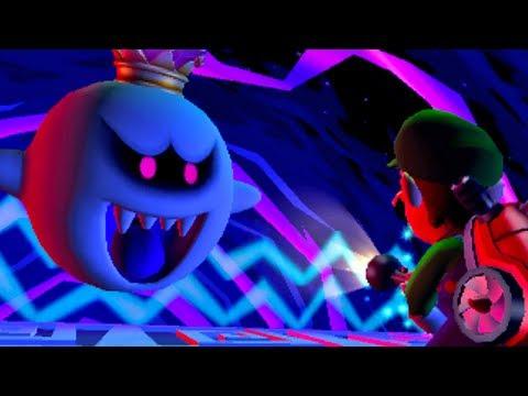 Luigi S Mansion Dark Moon King Boo Battle Ending Hd