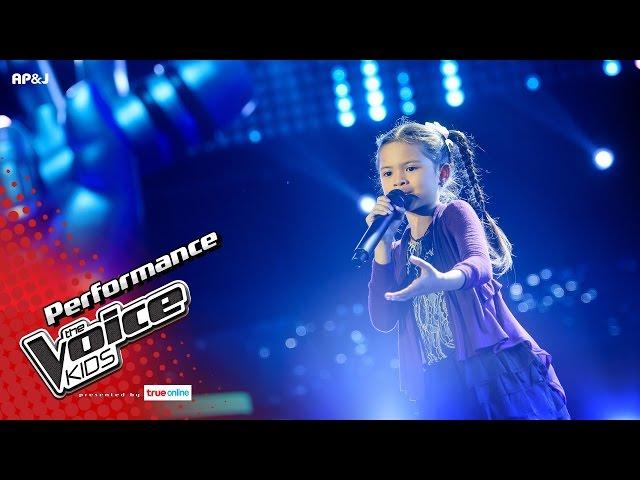 ป่าน - ฝนซาฟ้าใส - Blind Auditions - The Voice Kids Thailand - 23 Apr 2017