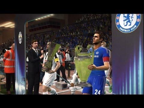 PES 2012 Ser Una Leyenda UEFA SuperCup Chelsea FC vs Juventus (Partido Final)