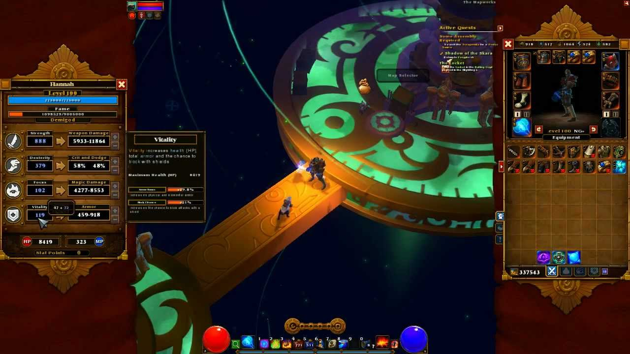 Torchlight 2 2h Melee Engineer Build On Tartarus Lite Youtube