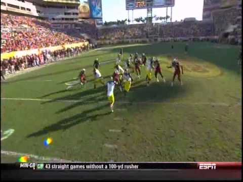 Jadeveon Clowney blows up Michigan 2013 Outback Bowl
