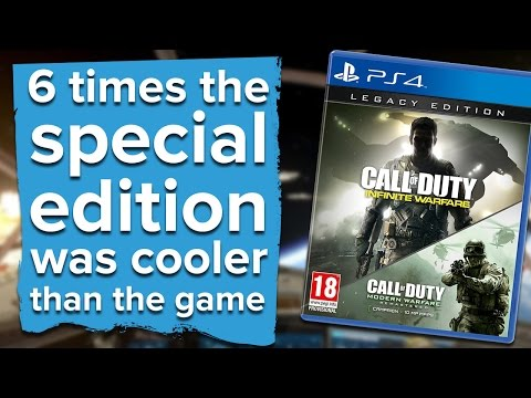 Watch: 6 times the special edition was cooler than the game