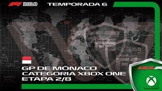 F1 2018 CATEGORIA XBOX ONE - 2ª ETAPA - GP DE MÔNACO (6ª TEMPORADA)