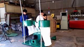 Hướng dẫn lắp đặt máy hút bụi công nghiệp di động 2 túi vải - Đông Phương Hà Nội