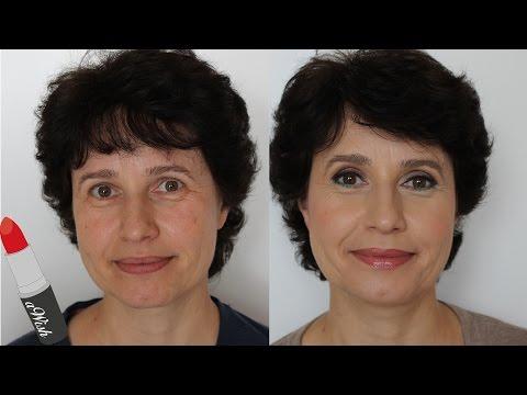 Schönes Make-Up für reifere Frauen | aWish