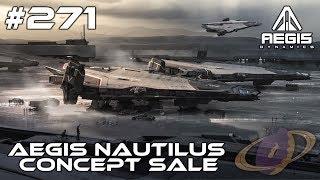Star Citizen #271 Aegis Nautilus - Concept Sale [Deutsch]