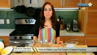 How To Make Low-fat Cream Cheese Frosting