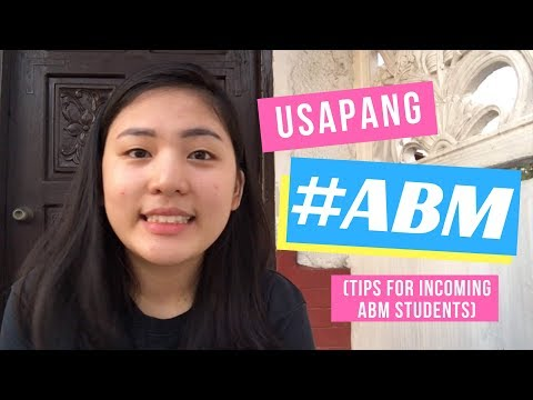 TIPS FOR INCOMING ABM STUDENTS (Kakayanin mo ba ang Accounting?)