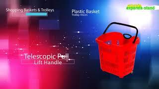 Expanda Stand Shopping Trolleys & Baskets