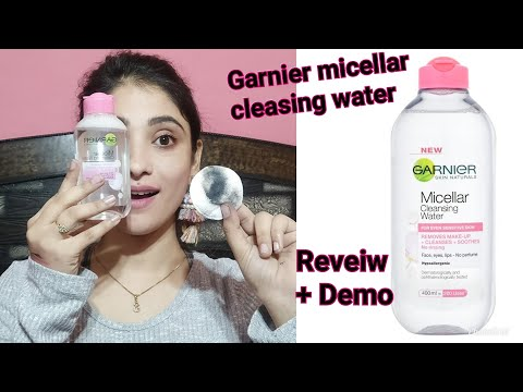 *NEW * GRANIER MICELLAR CLEASING WATER REVIEW + LIVE DEMO || SHYSTYLES