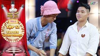 Thách thức danh hài 6 | Tập 12: Trấn Thành, Trường Giang chưa cười, thí sinh đã chiến thắng nhờ MC?